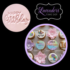 "HAPPY BIRTHDAY"" Little Biskut Embosser"