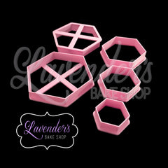 Hexagon Cutter 5pc