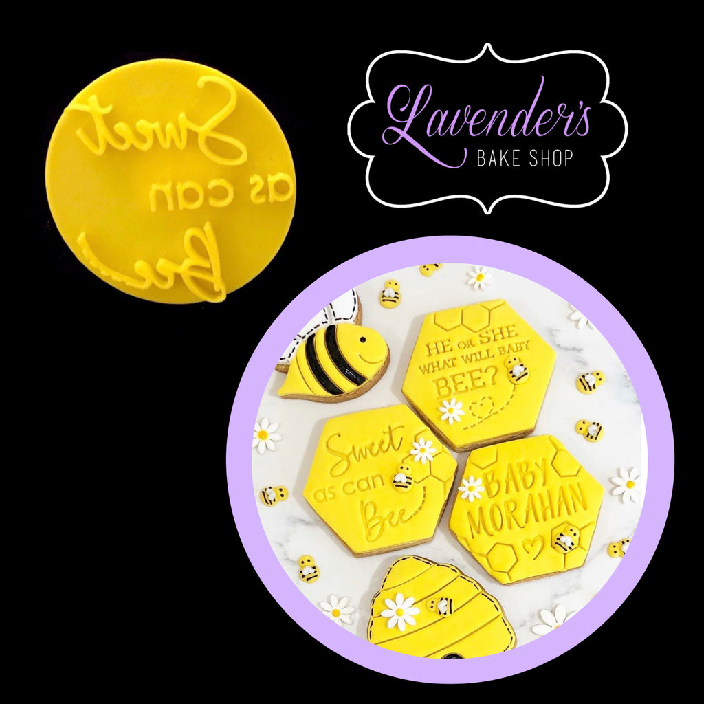"""SWEET AS CAN BEE 040"" Embosser"
