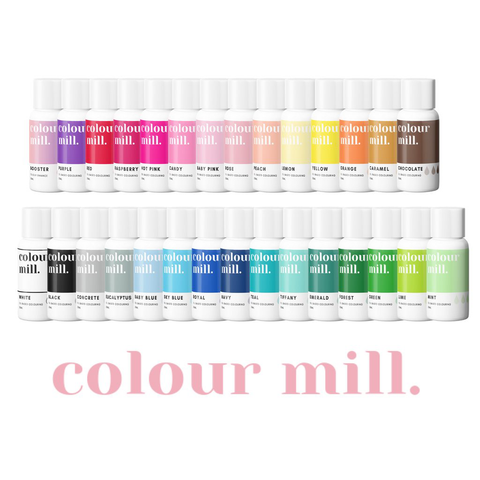 Entire Set Of Colour Mill Colouring