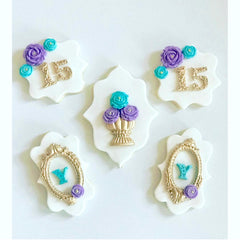 Mini Filigree Numbers
