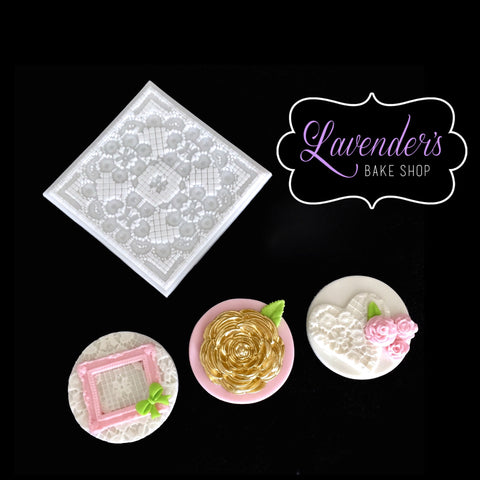 Embroidery Lace Embosser Mat