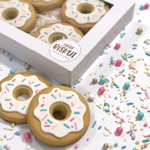 """DONUT SET"" Little Biskut Embosser And Cutter"