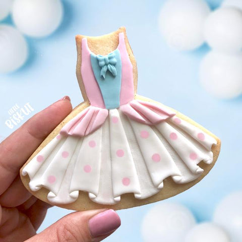 """TUTU DRESS"" Little Biskut Embosser And Cutter"