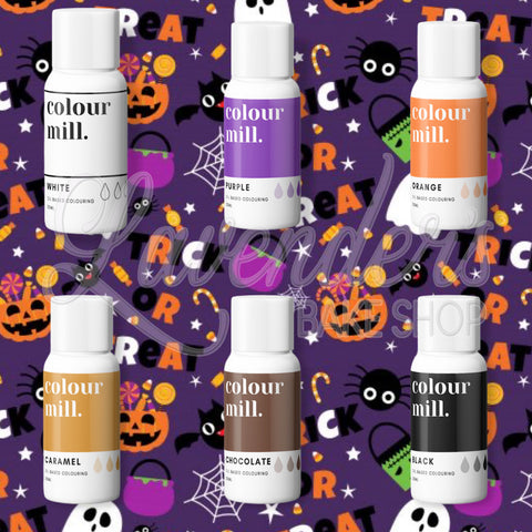TRADITIONAL HALLOWEEN Colour Mill 6 Pack