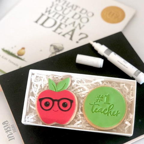 """GLASSES"" Smart Cookie Little Biskut Embosser"