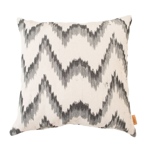 Lidby Living Cushions in Black and Grey Canyamel