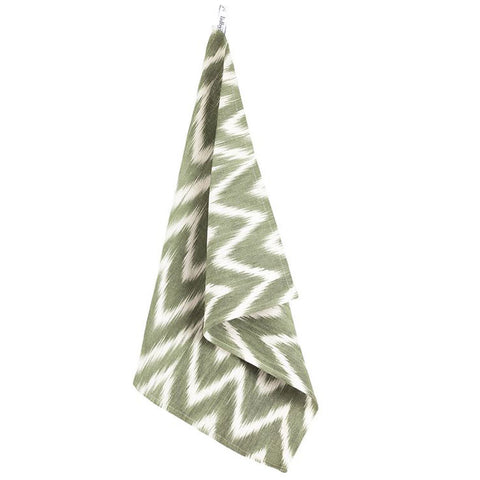Lidby Living Green Ikat Placemat