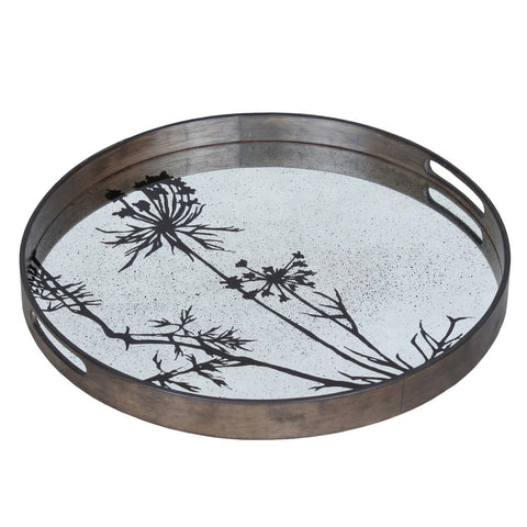 Notre Monde Thistle Mirror Tray - Thompson Clarke - 1
