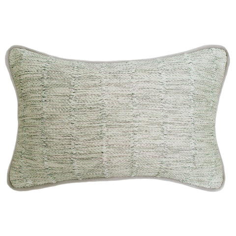 Jude Cassidy Harrow Mint Woven Cushion