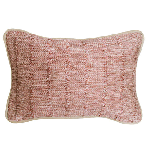 Jude Cassidy Harrow Rosewood Woven Cushion