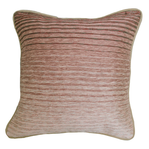 Jude Cassidy Ombre Rosewood Woven Cushion