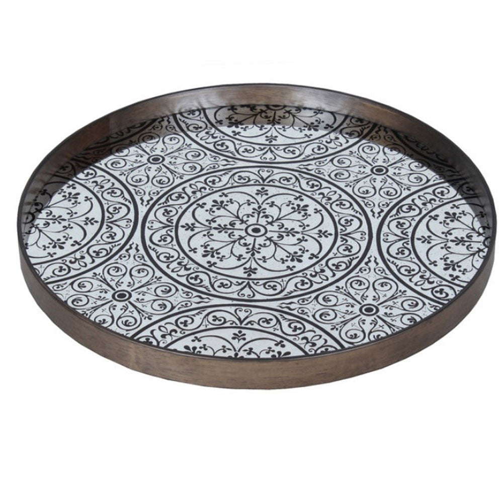 Notre Monde Chocolate Moroccan Tray - Thompson Clarke - 1