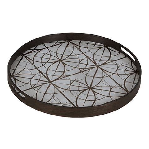 Notre Monde Geometric Mirror Tray - Thompson Clarke - 1