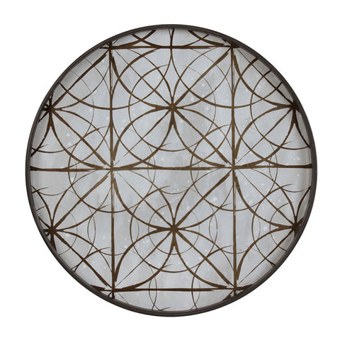 Notre Monde Geometric Mirror Tray - Thompson Clarke - 2