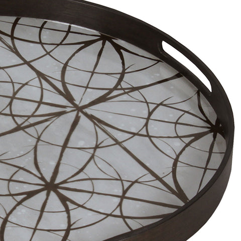 Notre Monde Geometric Mirror Tray - Thompson Clarke - 3