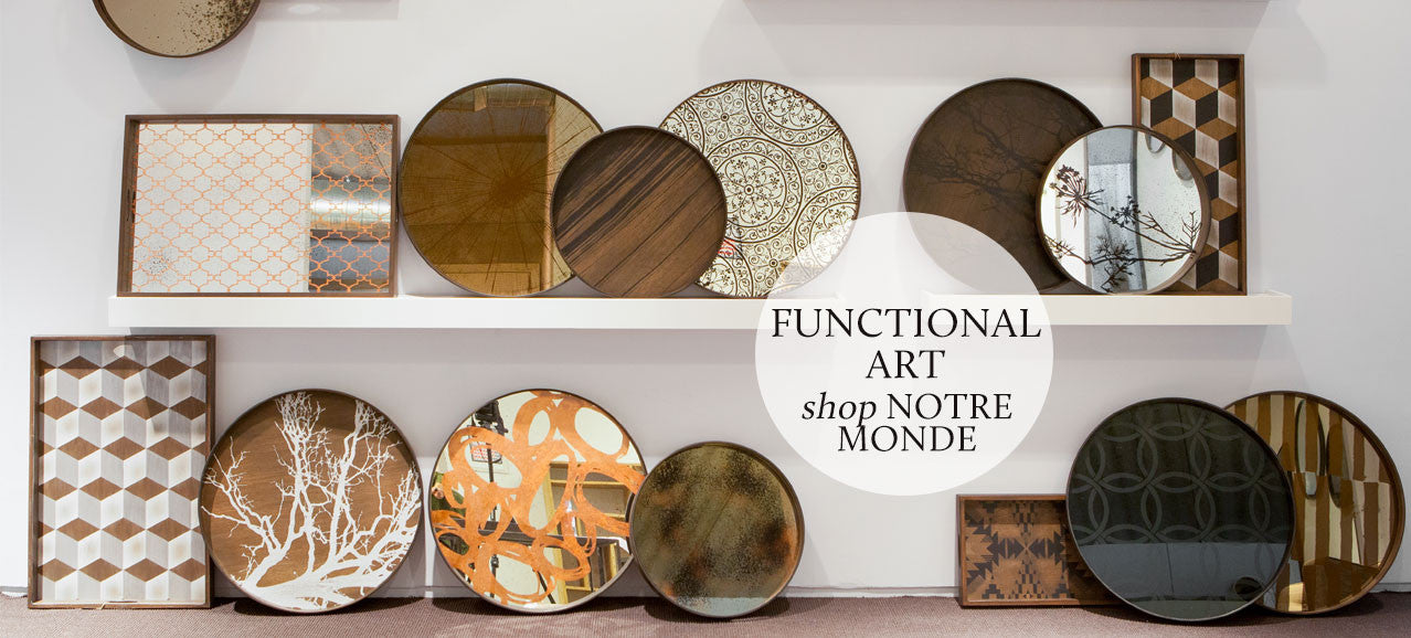 Shop functional art from Notre Monde