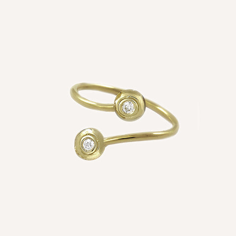 MINI CAP TWIST RING
