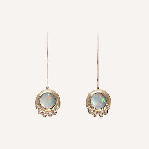 MINI ELLA STEM DROP EARRINGS
