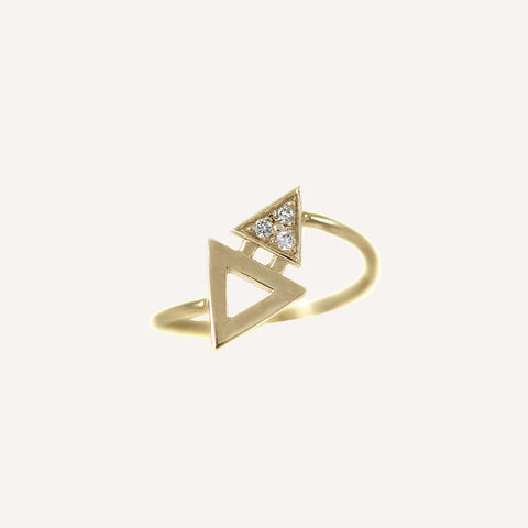MINI TRIANGLE RING