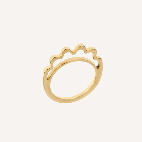 ELLA OPEN STACK RING
