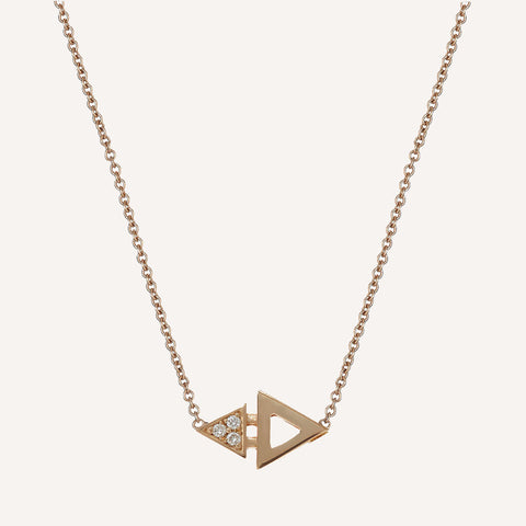 MINI TRIANGLE NECKLACE