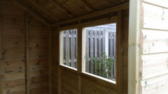 apex tanalised timber garden shed heavy duty outdoor storage