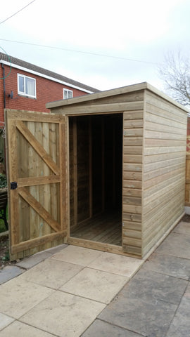 Standard Tanalised Shed - Apex/Pent