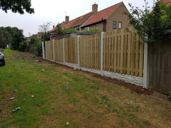 Fence Panels Double Palisade