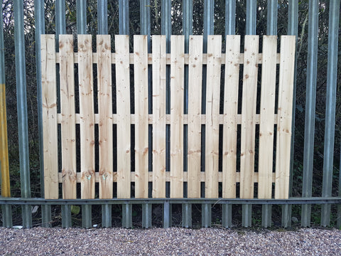Fence Panels Single Palisade
