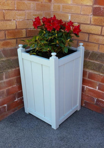 Post and Panel Planter