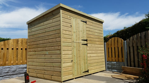 Premium Tanalised Shed - Apex/Pent