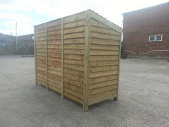 Extra Large Log Store 2400mm (8') Wide