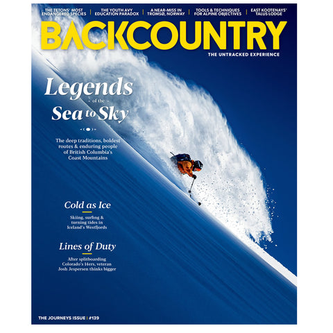Backcountry Magazine 139 - The Journeys Issue