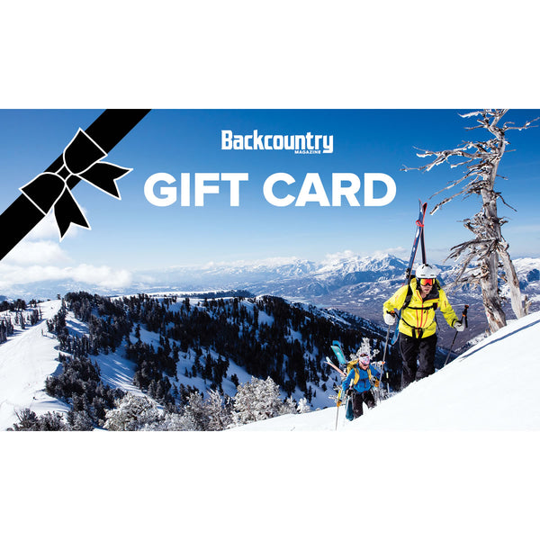 Backcountry Gift Card