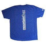 Organic Cotton T-Shirt Blue - SIZE SMALL ONLY