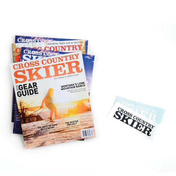 Cross Country Skier Magazine Gift Subscription