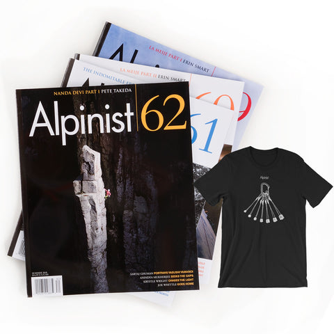 Alpinist Gift Subscription with T-shirt