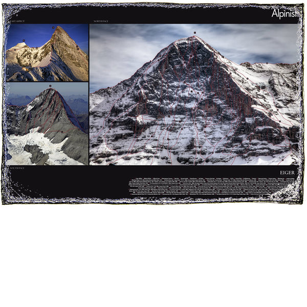 Eiger Routelines Poster