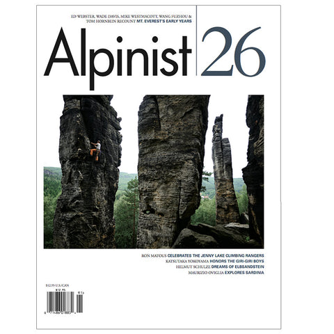 Alpinist Magazine Issue 26 - Spring 2009