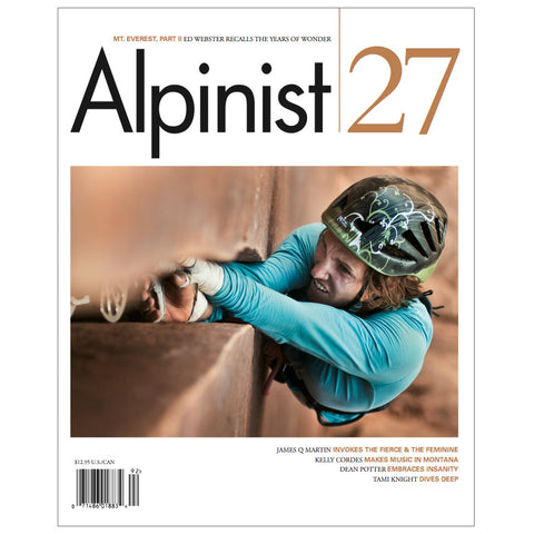 Alpinist Magazine Issue 27 - Summer 2009