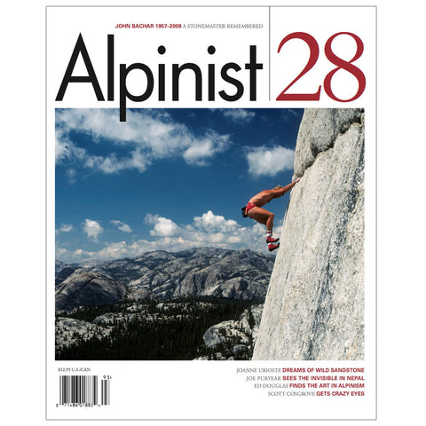 Alpinist Magazine Issue 28 - Autumn 2009