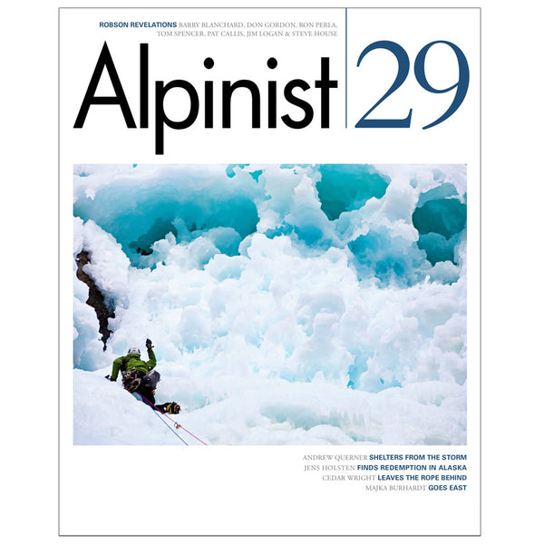 Alpinist Magazine Issue 29 - Winter 2009-10