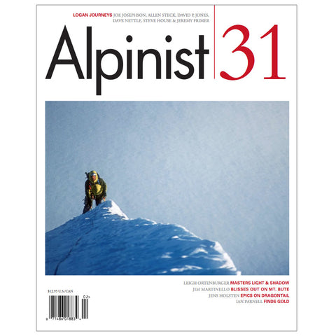 Alpinist Magazine Issue 31 - Summer 2010