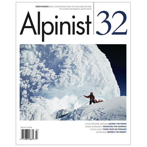 Alpinist Magazine Issue 32 - Autumn 2010