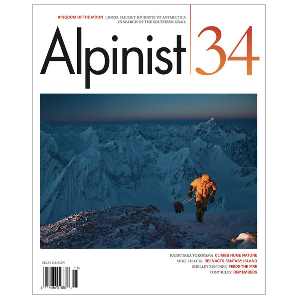 Alpinist Magazine Issue 34 - Spring 2011