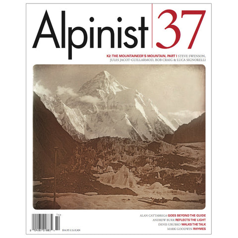 Alpinist Magazine Issue 37 - Winter 2011-12