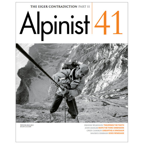 Alpinist Magazine Issue 41 - Winter 2012-2013