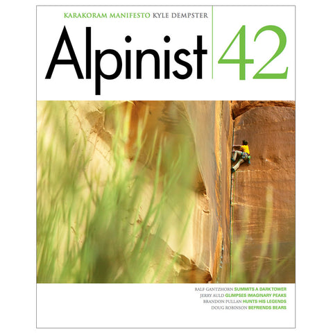 Alpinist Magazine Issue 42 - Spring 2013