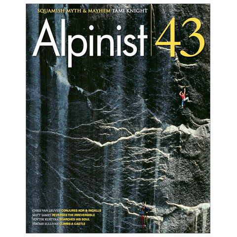 Alpinist Magazine Issue 43 - Summer 2013